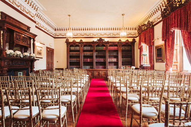 Stately home for weddings in North Yorkshire